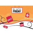 Black Friday Retail Design vector image vector image