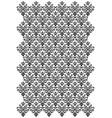 damask design vector image vector image