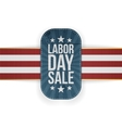 Labor Day Sale patriotic Banner with Stars vector image vector image