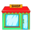 Shop icon flat style vector image