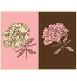 Azaleas - vintage floral design vector | Price: 1 Credit (USD $1)