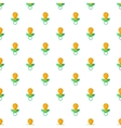 Baby nipple pattern cartoon style vector image