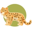 cartoon smiling jaguar vector image vector image