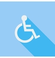 Disabled single icon vector image vector image