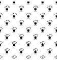 flask pattern seamless vector image vector image