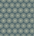 Retro Circle and Star Pattern on Pastel Color vector image vector image