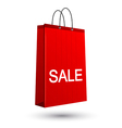 Sale bag vector image