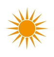 sun summer sunny design vector image