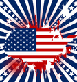 American theme background vector image