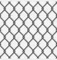 chain link fence background vector image vector image