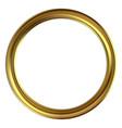 frame gold clip art vector image vector image