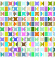 geometric abstract design image vector image