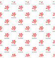 neisseria gonorrhoedae pattern seamless vector image