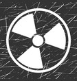 nuclear sign representing the danger of vector image
