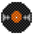 pixelated vinyl icon vector image