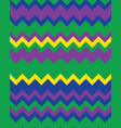 seamless zigzag lines colored vector image vector image