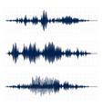 seismograph chart seismic activity diagram radio vector image