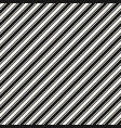 thin and thick diagonal stripes seamless pattern vector image vector image