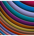 abstract background of colorful lines vector image vector image