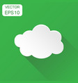 cloud sky icon business concept clouds pictogram vector image