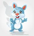 cute little bunny vector image vector image