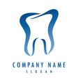 dentist logo vector image vector image