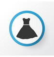evening gown icon symbol premium quality isolated vector image
