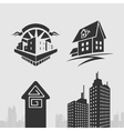 Symbol set property vector image