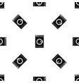 washing machine pattern seamless black vector image vector image