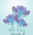 abstract flower spring background eps 10
