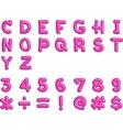 Alphabet1 vector image
