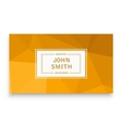 Business template business vector image