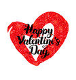 happy valentines day inspiration poster vector image vector image