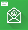 mail envelope icon business concept email vector image vector image