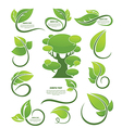nature collection vector image vector image