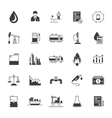 Set Icons Oil Industry vector image vector image
