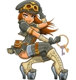 Sexy Steampunk Aviator