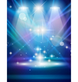 Spotlights on stage vector | Price: 1 Credit (USD $1)