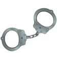 cartoon police handcuffs vector image