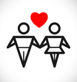 love sign vector image
