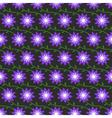FlowersPatternBackground05 vector image vector image