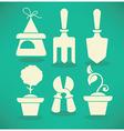 garden collection vector image vector image