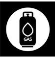 liquid propane gas icon vector image