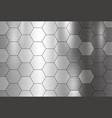metal texture background vector image vector image