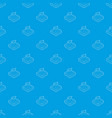 navigation pattern seamless blue vector image vector image