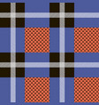 plaid tartan beautifulseamless background vector image vector image