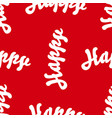 red seamless background for greeting card or vector image vector image