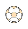 sport soccer ball vector image vector image