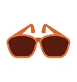 sunglasses isolated icon design vector image vector image