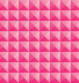 triangle pink love texture seamless background vector image vector image